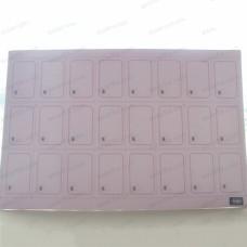 3*8 ISO15693 RFID Smart Card Inlay Sheet I CodeSli