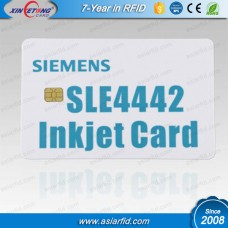 Inkjet Printable Contact Smart Card SLE4442