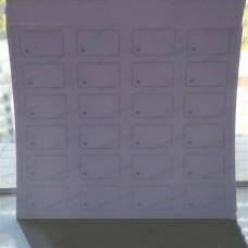 4*6 HF Inlay Sheet,I Code Sli Card Inlay 15693