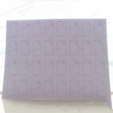4*8 RFID Smart Card Inlay Sheet MF Classic 1K S50