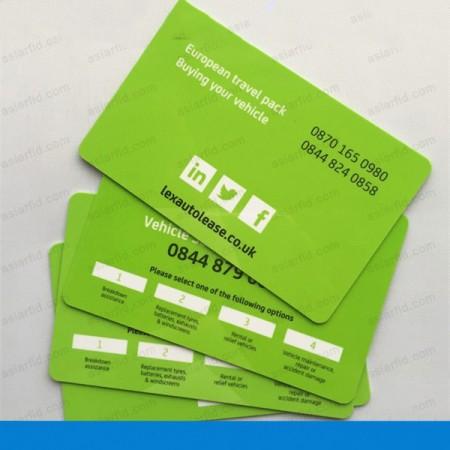 ISO18000-6C/GEN2 Long Range UHF RFID PVC Cards