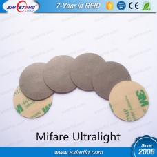 PVC Anti-Metal NFC Tags,RFID Disc Tags Ultralight 3M Glue