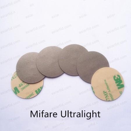 PVC Anti-Metal NFC Tags,RFID Disc Tags Ultralight 3M Glue