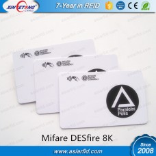 13.56MHZ  RFID Smart Cards MF DESfire EV1 8K