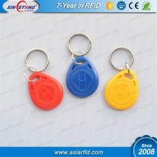 LF RFID Rewritable EM4305 Keyfob Door Access Control