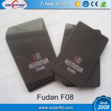 13.56MHZ Printing RFID Cards Fudan F08(MF Classic 1K Compatible)