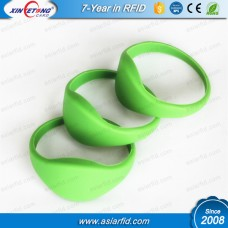 RFID Silicone Wristband MF Classic 1K S50