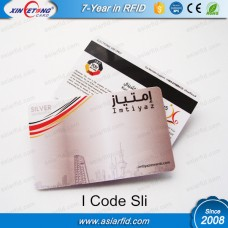 25*38MM ISO15693 RFID Label I Code Sli Black