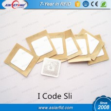 ISO15693 White PVC 18*18MM RFID Labels I CODE SLI