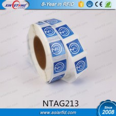 NFC Roll Stickers NTAG213