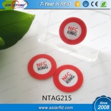 25MM Round Printed NFC Stickers NTAG215