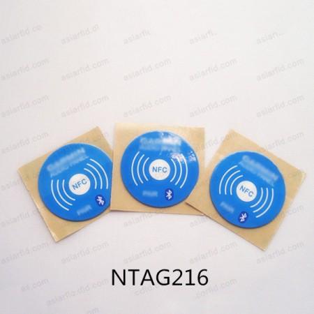 Custom Branded NFC Sticker Tag NTAG216 888Byte