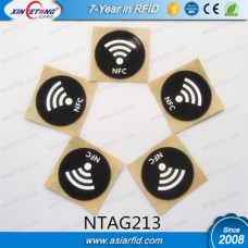 NFC Sticker On Metal NTAG213