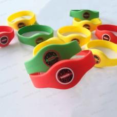 125KHZ Silicone RFID Wristbands EM4200