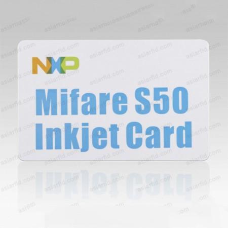 13.56MHZ Inkjet Printable Cards MF 1K S50