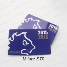 13.56MHZ Printing RFID Cards MF Classic 4K S70