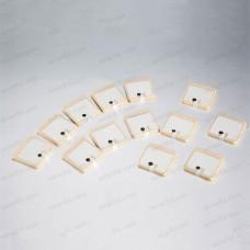 865~868Mhz UHF RFID CERAMIC TAG Monza 4QT 25*25MM