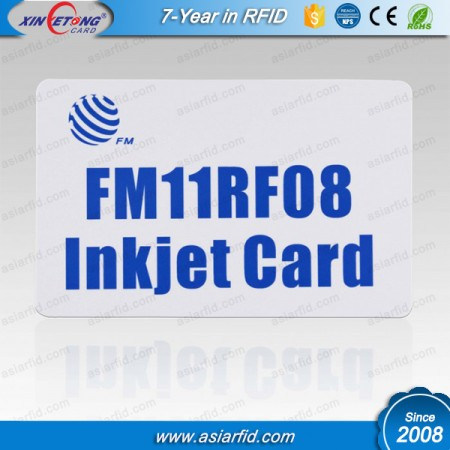13.56MHZ Inkjet Printable Cards 1K F08