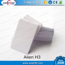 UHF White Blank Alien H3 Smart Card 860~960MHZ