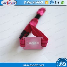 RFID Fabric Wristbands For Events MF Classic 1K
