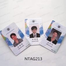 ISO14443A HF 13.56MHZ NTAG213 PVC Card